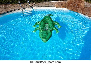 pool., zwemmen