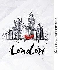 poster, londen