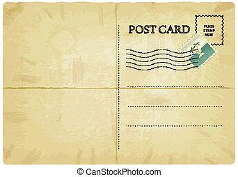 postkaart, oud