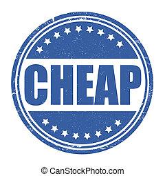 postzegel, goedkoop