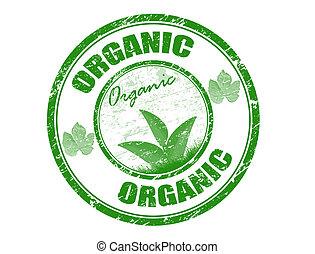postzegel, organisch