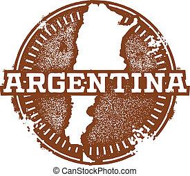 postzegel, ouderwetse , argentinië