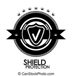 postzegel, ouderwetse , label, etiket, bescherming, black , retro, badge,  