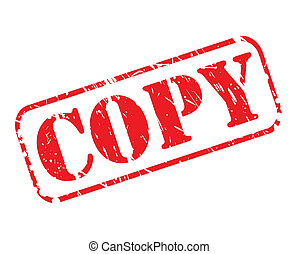 postzegel, tekst, kopie, rood
