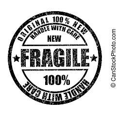 postzegel, tekst, rubber, breekbaar, grunge