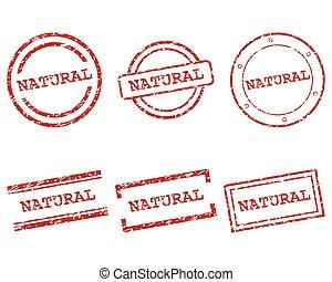 postzegels, natuurlijke
