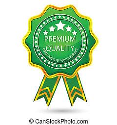 premie, badge, kwaliteit