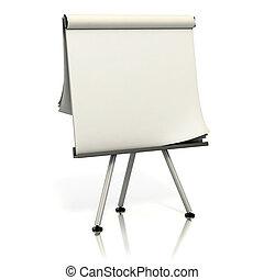 presentatie, plank, leeg