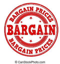 prijzen, postzegel, koopje
