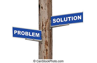 probleem, oplossing, &