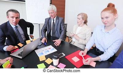 proces, vergadering, werkende , zakelijk