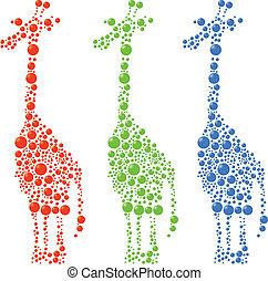 punten, giraffe