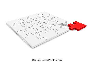 puzzelstuk, eind-