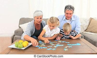 raadsel, gezin