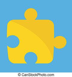 raadsel, vector, pictogram