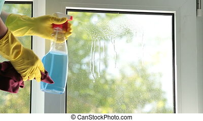 raam wassen