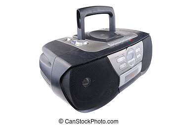 radio, registreerapparaat, cassette