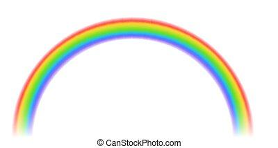 regenboog, abstract, kleurrijke, mal
