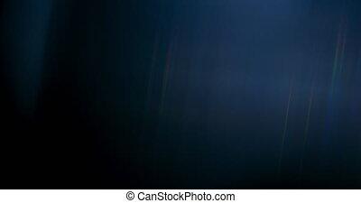 regenboog, flakkerende licht, etherisch