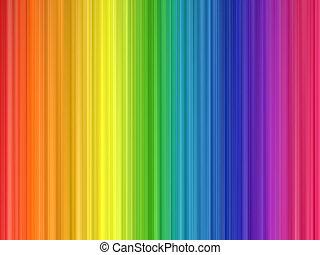 regenboog kleurt