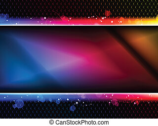 regenboog, neon, kleurrijke, achtergrond, feestje
