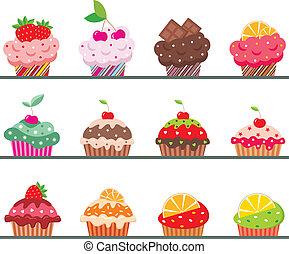 regiment, cupcakes