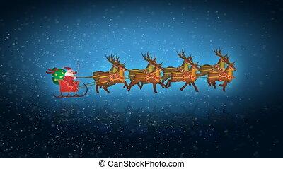 rendier, kerstman, lus