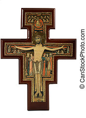 reproductie, san, damiano, kruis