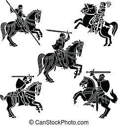 ridders, wapenkunde