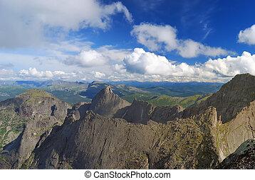 ridge., berg