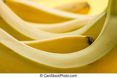 rijp, achtergronden, op einde, fris, banaan, textures.