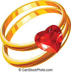 ringen, liefde