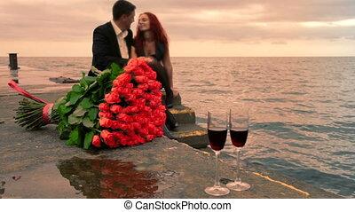 romaans, datering, zee