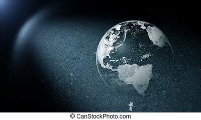 ronddraaien, aarde, satelliet