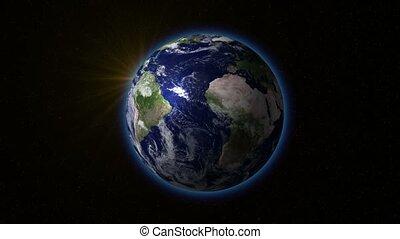 ronddraaien, aarde, sun., v.1.