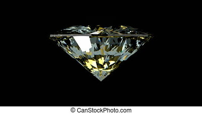ronddraaien, diamant, loopable