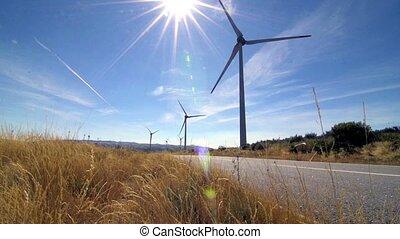 ronddraaien, windmolen