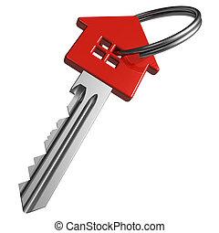 rood, klee, house-shape
