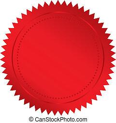 rood, zeehondje
