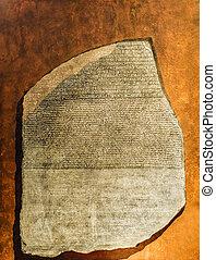 rosetta steen, reproductie