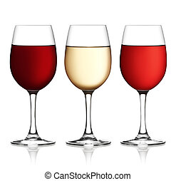 roze, af)knippen, achtergrond, zacht, omvat, glas, bestand, wit rood, path., shadow., wijntje