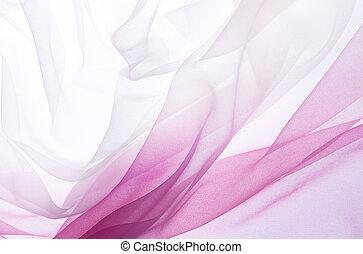 roze, chiffon