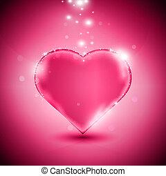 roze, hart