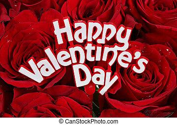 rozen, valentines dag, vrolijke