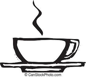 ruige , koffiekop