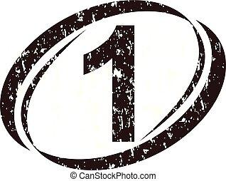 ruige , nummer 1, logo
