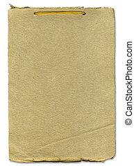 ruige , papier, bindend, lint, textuur