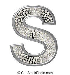 s, diamant, karakter