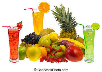 sap, fruit, fris