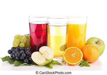 sap, fruit